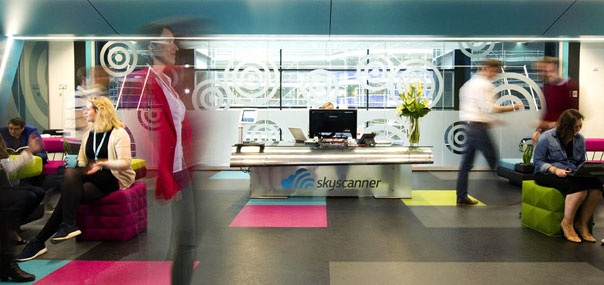 Skyscanner-office